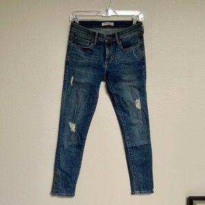 Banana Republic Skinny Ankle Jeans 26